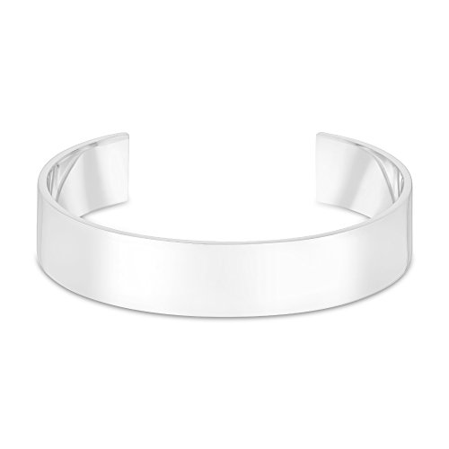 Arque Men's Extra Wide Solid 9 ct Gold Cuff