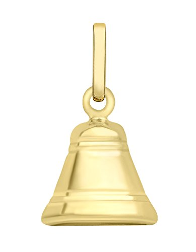 Carissima Gold 9ct Yellow Gold Bell Charm Pendant