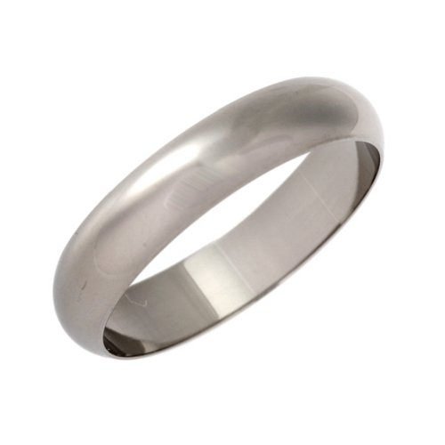 Theia Palladium 950 Super Heavy D Shape Wedding Ring
