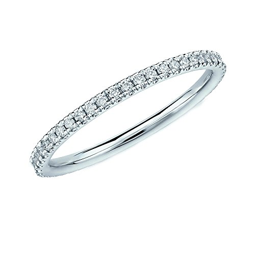 0.50Ct Round Diamond Micro Pave Set Full Eternity Ring for Women's