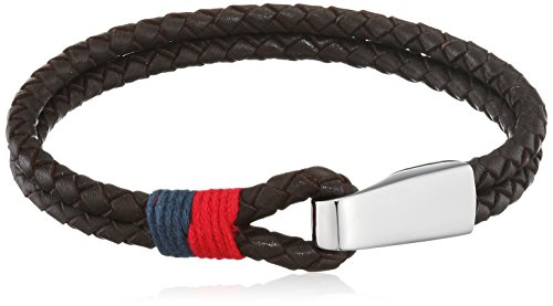 Tommy Hilfiger Jewellery Men's Bracelet Stainless Steel Casual Leather