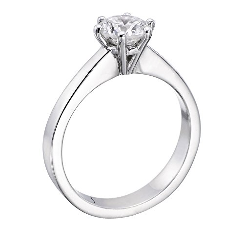 14K Gold / White 1 1/2ct GIA Certified Diamond Engagement Ring Round Cut F Color VVS2 Clarity