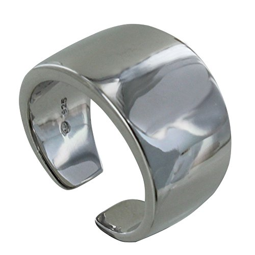 Les Poulettes Jewels – Silver Rhodium Large Ring