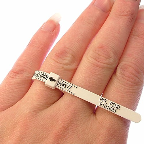 2 X UK Ring Sizer / Measure For Men & Women Sizes A-Z