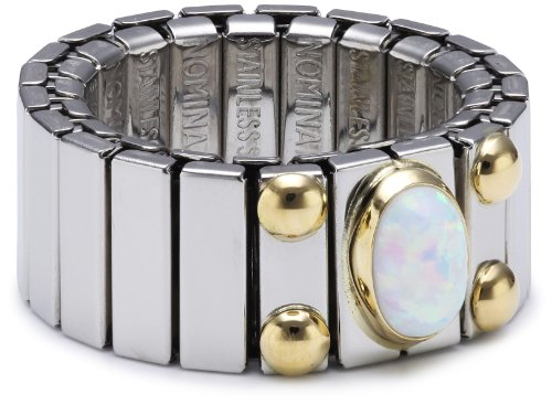 Nomination Women's Ring Medium with 1 in White Opal